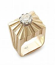 Diamond and gold dress ring, 1960s
