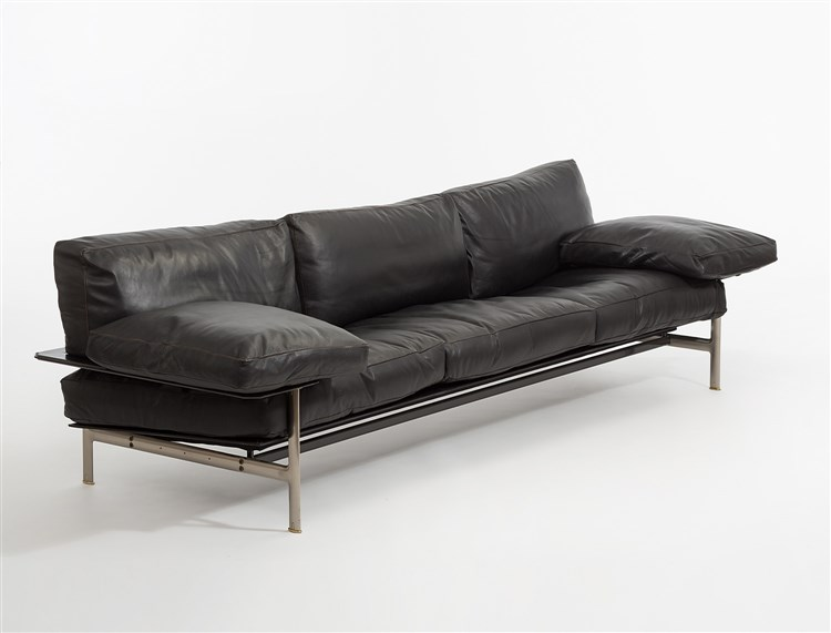 sofa diesis antonio citterio f r b b italia um 1990 met. Black Bedroom Furniture Sets. Home Design Ideas