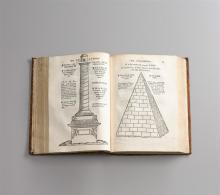 Boccacchio, G., Insigne opus de claris mulieribus. Bern, M. Apiarius (1539). 6, CLXXXI Bll. Mit 15 Holzschnitten. Angeb.: (Mazzocchi, G.), Epigrammata antiquae urbis (Rom 1521). CLXXX Bll. Mit...