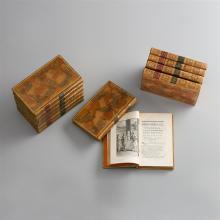 Corneille, P(ierre), Théatre avec des commentaires… 12 Bände. (Genève, Cramer) 1765. Ganzlederbände  der Zeit mit Rückenvergoldung u. Ganzgoldschnitt.