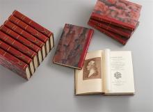 Casanova de Seingalt, J., Mémoires écrits par lui-même. Ed. publ. par R. Vèze d'après le texte de l'édition 1826-38. Paris, Ed, Sirèene, 1924-25. Private Halblederbände.