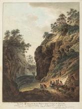 Pfenninger, Mathias (1739-1813). «Passage et Ouverture du Hauenstein Canton de Soleure»/«Chûte d'Eau à Balstal, Canton de Soleure». Dessiné ap: Nath. par Mth. Pfeninger Graveur a Zurich....