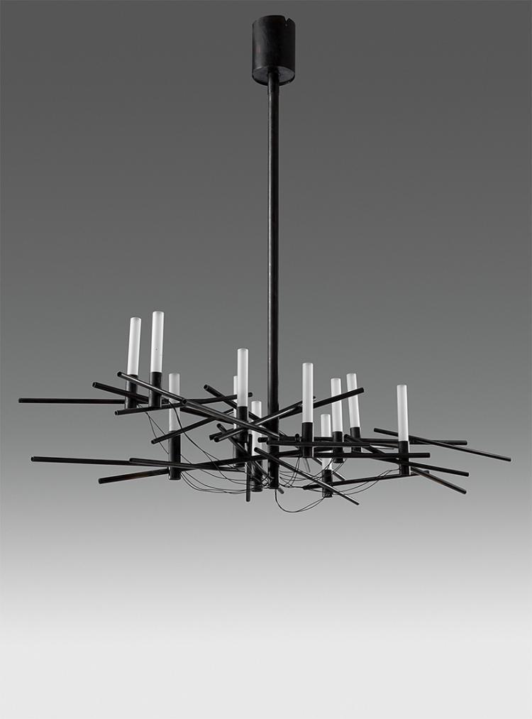 deckenlampe von barbara j ggi luzern um 2010 einzelanfer. Black Bedroom Furniture Sets. Home Design Ideas