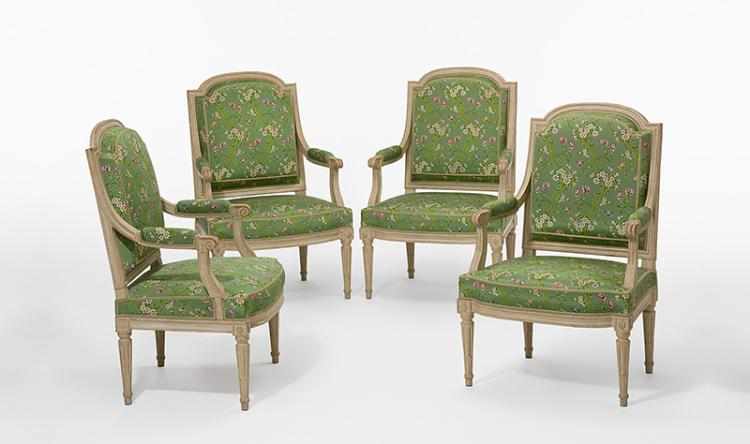 Sehr feines salon ameublement louis xvi frankreich paris for Ameublement chaises