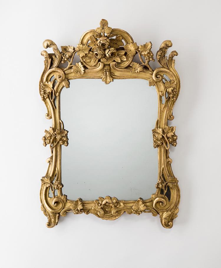 sehr sch ner provenzalischer spiegel louis xv aus der gege. Black Bedroom Furniture Sets. Home Design Ideas