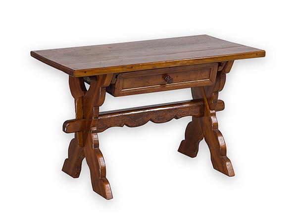 kleiner tisch wohl 18 19 jh nussbaum und nadelholz rech. Black Bedroom Furniture Sets. Home Design Ideas