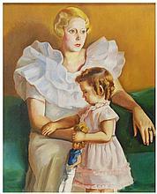 FRANCESC DOMINGO (1893-1974) óleo sobre lienzo.