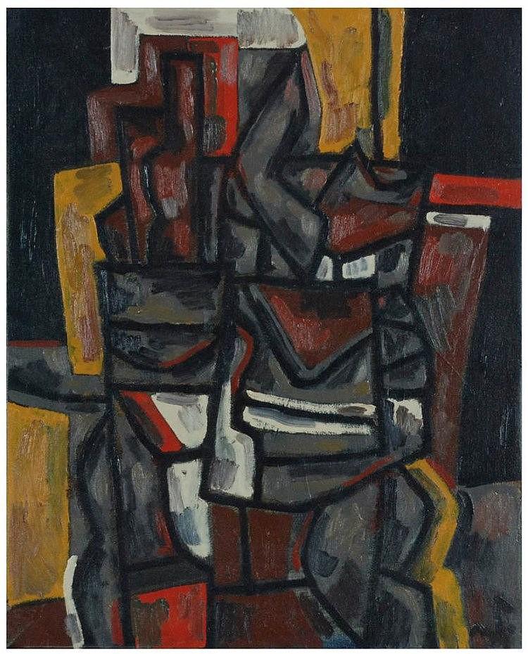 ALEJANDRO VILADRICH (1957) óleo sobre lienzo.