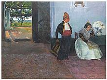 BARTOLOMÉ MONGRELL MUÑOZ (1890-1938) óleo sobre