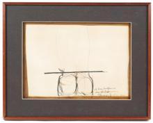JOAN HERNANDEZ PIJUAN (1931-2005), Composición, Técnica mix