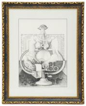 LUIS DÍAZ OLIVA (1938-2001), Sin título, Tinta sobre papel
