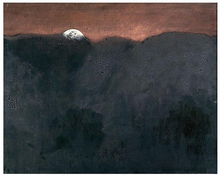 PEREJAUME (1957) acrílico sobre lienzo. Med.: