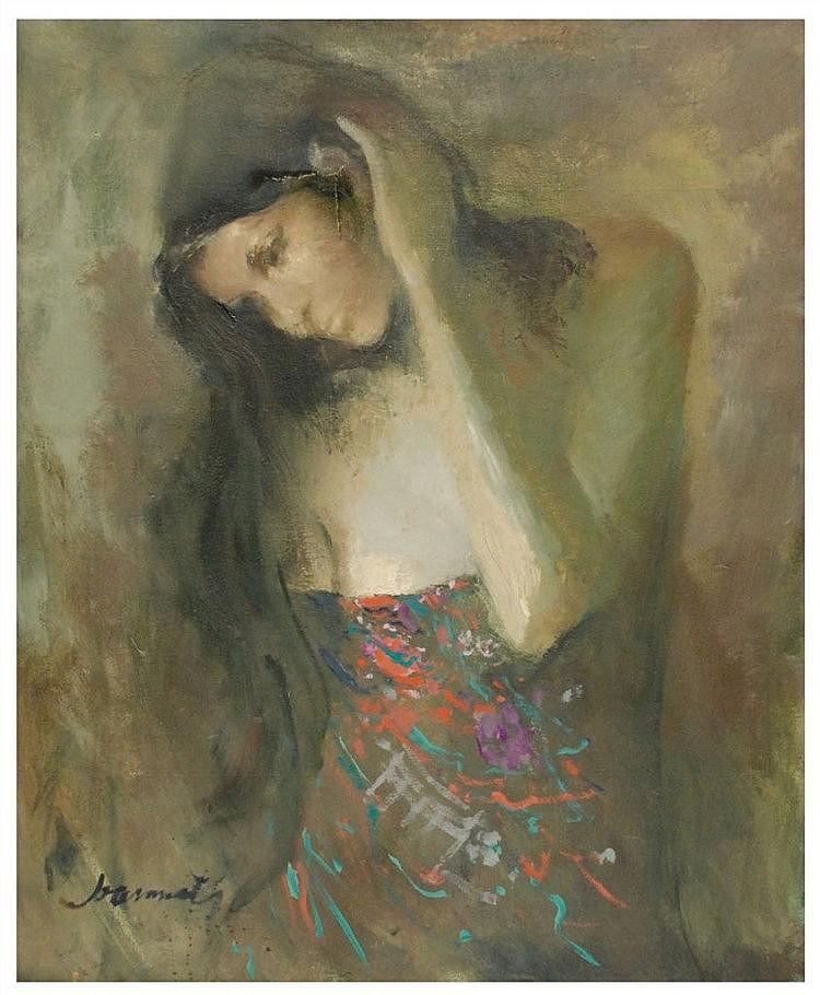 JOAN MARTI (1936-2009) óleo sobre lienzo. Med.: