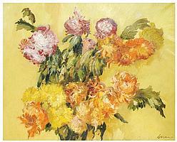 JOSE MIGUEL SERRANO (1912-1982) ólro sobre lienzo.