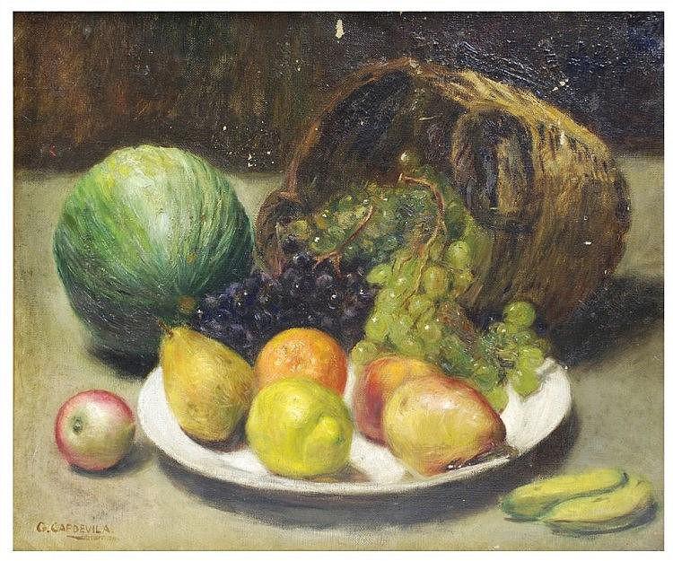 GENIS CAPDEVILA (1860-1929) óleo sobre lienzo.