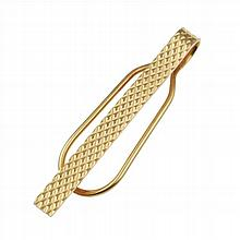 GOLD CARTIER TIE PIN