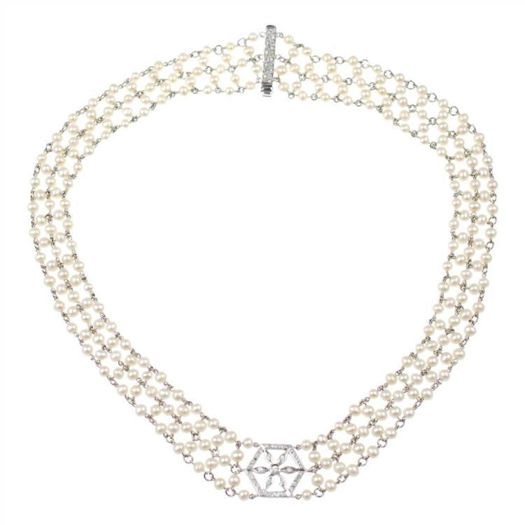 Diamantes y perlas porno
