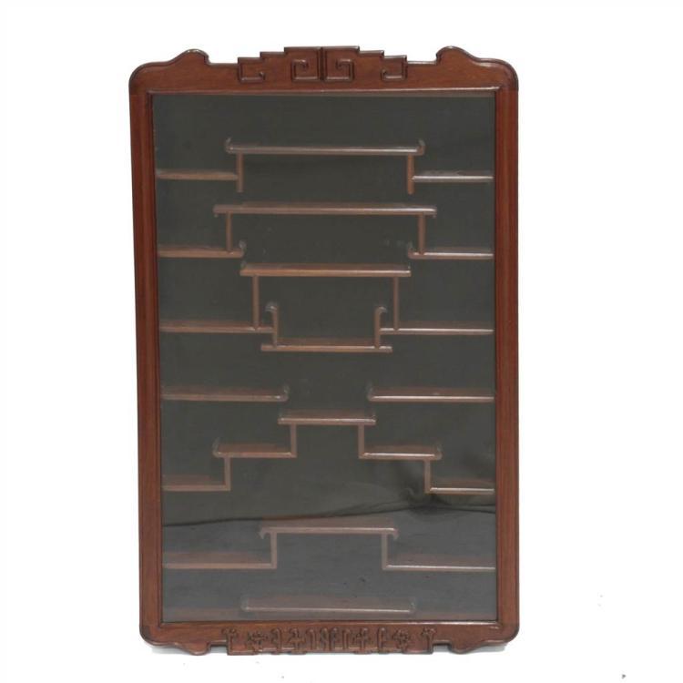Vitrina de pared de estilo oriental for Vitrina estilo industrial
