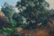 """JOSEP VENTOSA DOMÈNECH (1897-1982) """"LAS ENCINAS"""", TOSSA DE MAR, 1943."""