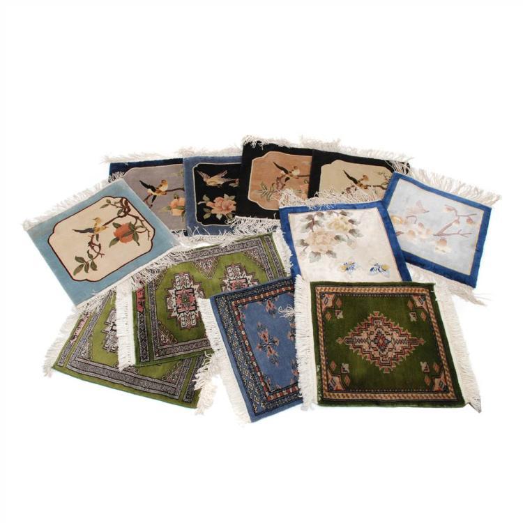 Once alfombras peque as mediados siglo xx - Alfombras pequenas ...