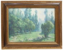 "JOSEP VENTOSA DOMENECH (1897-1982). ""WOODED LANDSCAPE"""