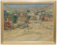 """JORDI FREIXAS CORTES (1917-1984) """"Rural landscape""""."""