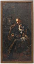 "SALVADOR SÁNCHEZ BARBUDO (1857-1917). ""Portrait of the Marq"