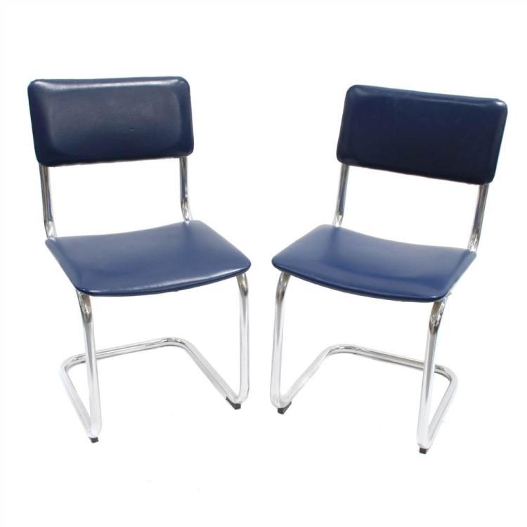 Juego de seis sillas a os 60 - Sillas anos 60 ...