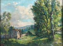 "JOSEP VENTOSA DOMÈNECH (1897-1982) ""MASIA"", 1941."