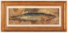 """RAFAEL BATALLER GIRALT (1920). """"BLUE FISH""""."""