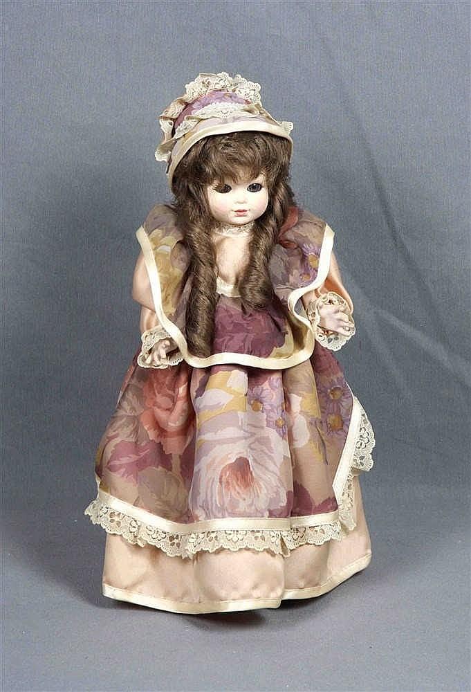 An Antique Porcelain Doll