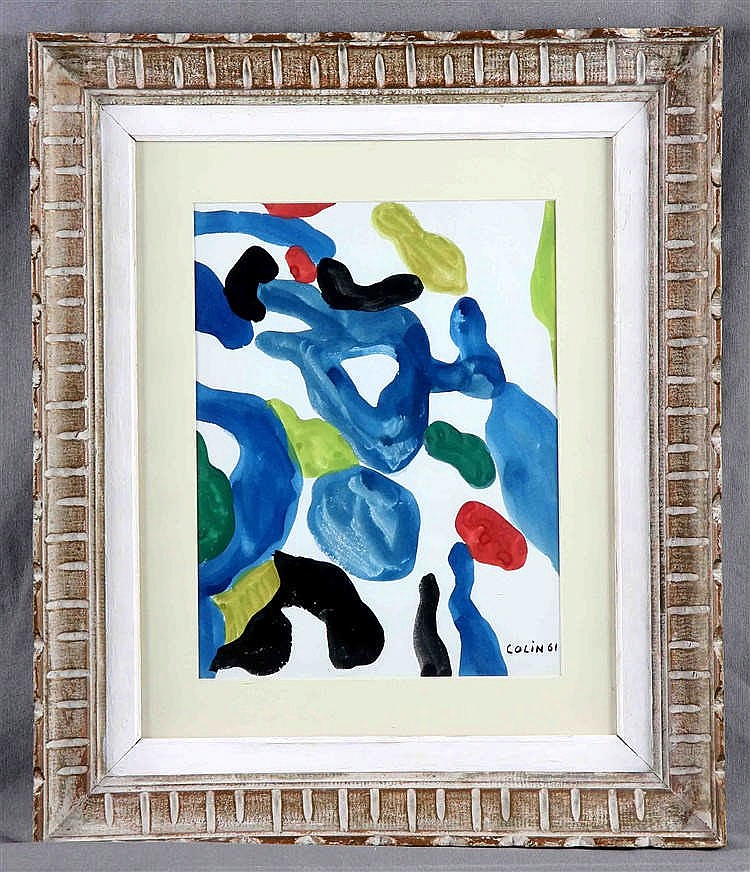 """COLIN. """"Abstraction"""""""