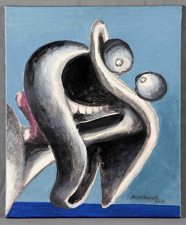 "CAMPOAMOR, MANUEL (MADRID, 1958). ""PICASSO SOY YO"""