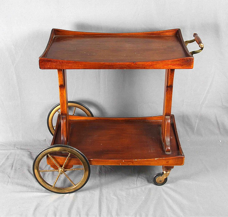 J. VALENTI SERVING CART