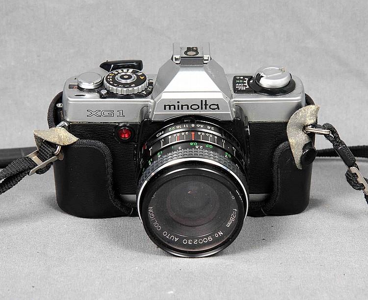 MINOLTA XG1 CAMERA, CIRCA 1970