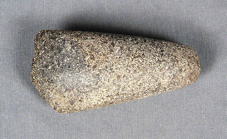 A NEOLITHIC PERIOD STONE AXE