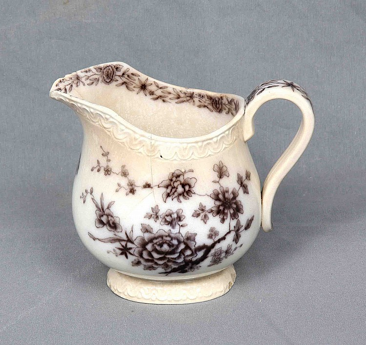A SWEDISH GEFLE STARSOUND PORCELAIN VINTAGE PITCHER