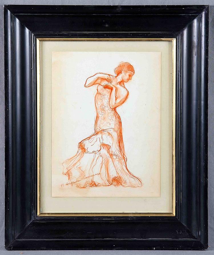 "ANGLADA CAMARASA, H. ""DANCER WOMAN""."
