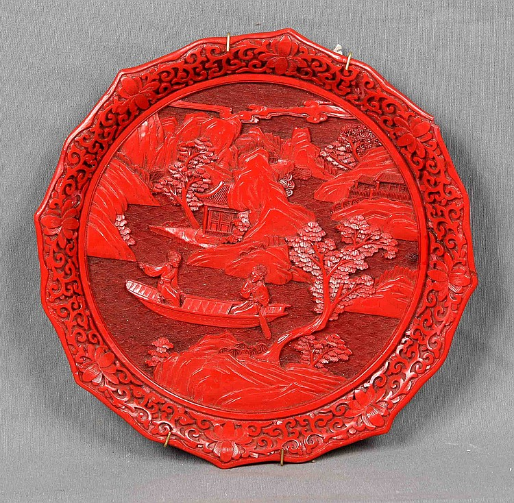 A LACQUER PLATE