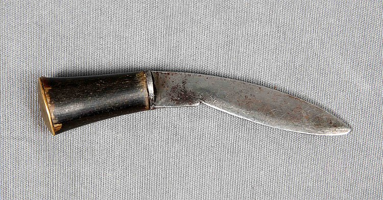AN ANTHER HANDLED KNIFE
