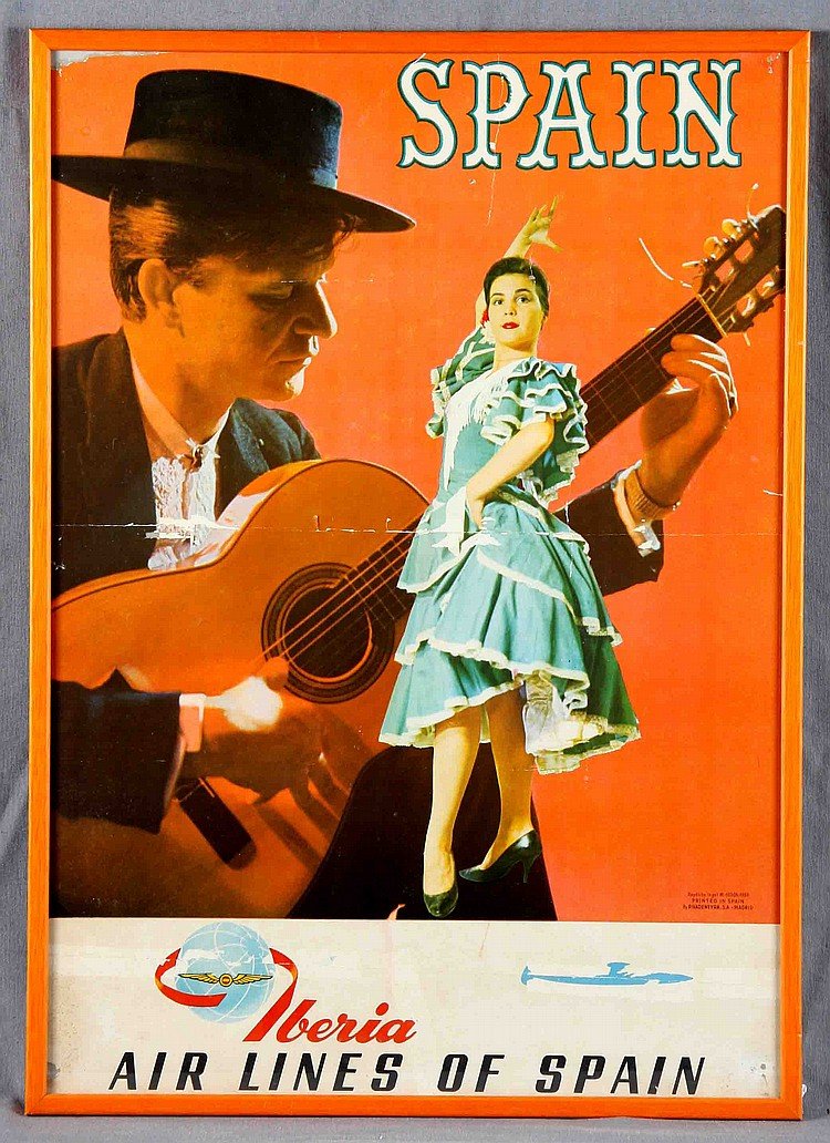 A SPANISH ADVERTISING POSTER