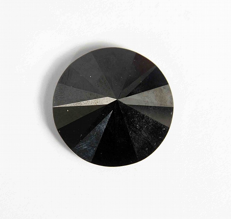 A BLACK DIAMOND 89.11 CARAT