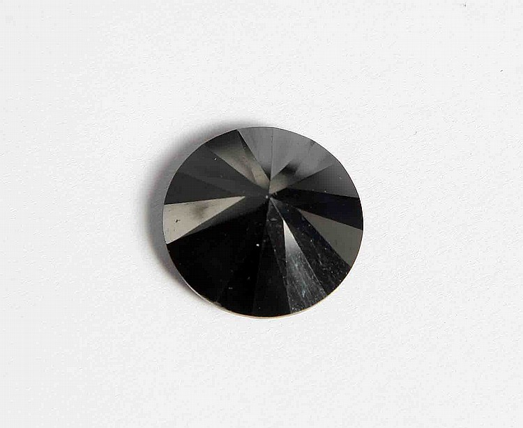 A BLACK DIAMOND 20.15 CARAT