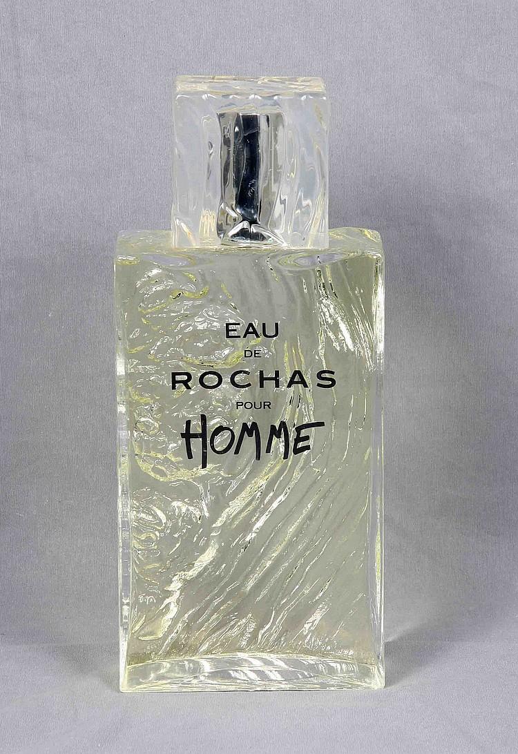 EAU DE ROCHAS POUR HOMME PERFUME BOTTLE