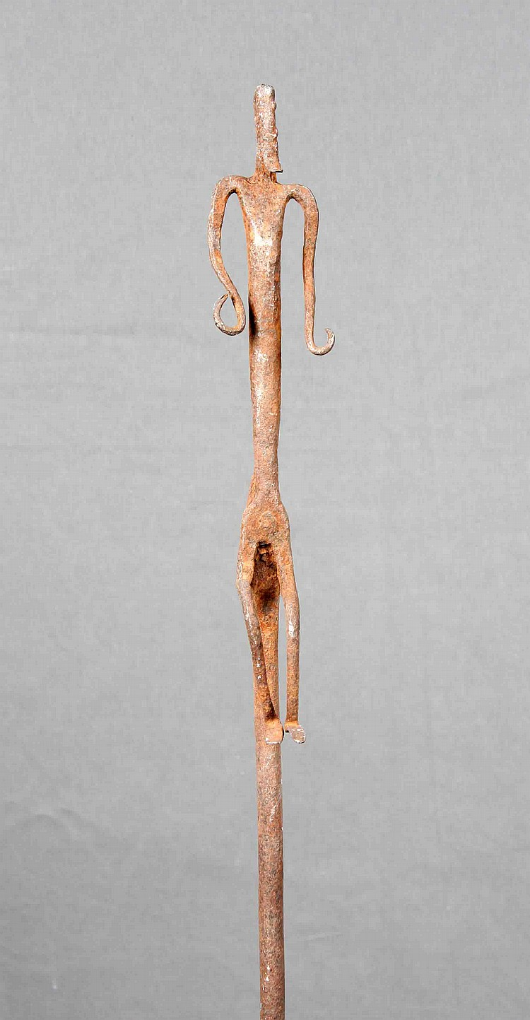 A DOGON TERRITORY SIGN STICK