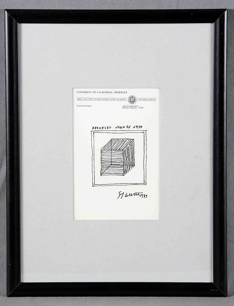 ATTRIBUTED TO LEWITT SOL.
