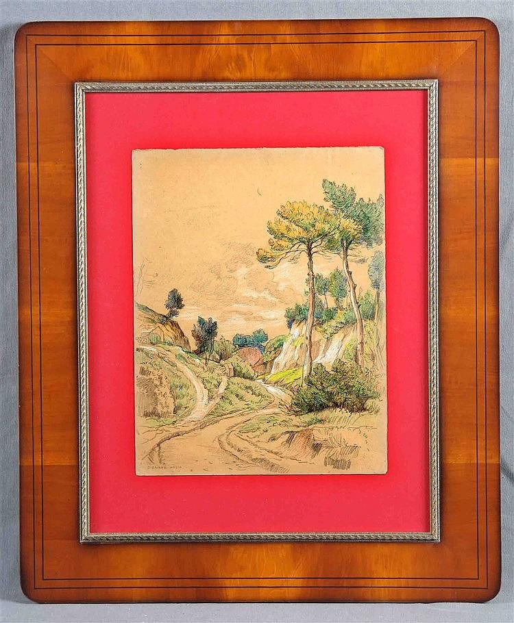 "BIENABE-ARTIA, BERNARDINO. ""Landscape"""