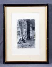 "FERRANT, ALEJANDRO (1843-1917). ""Vista urbana de F"