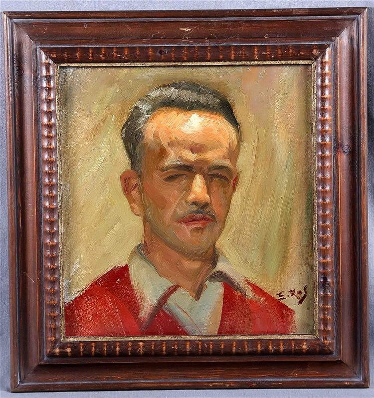 """ROS BENET, EMILIO, """"Self-portrait"""