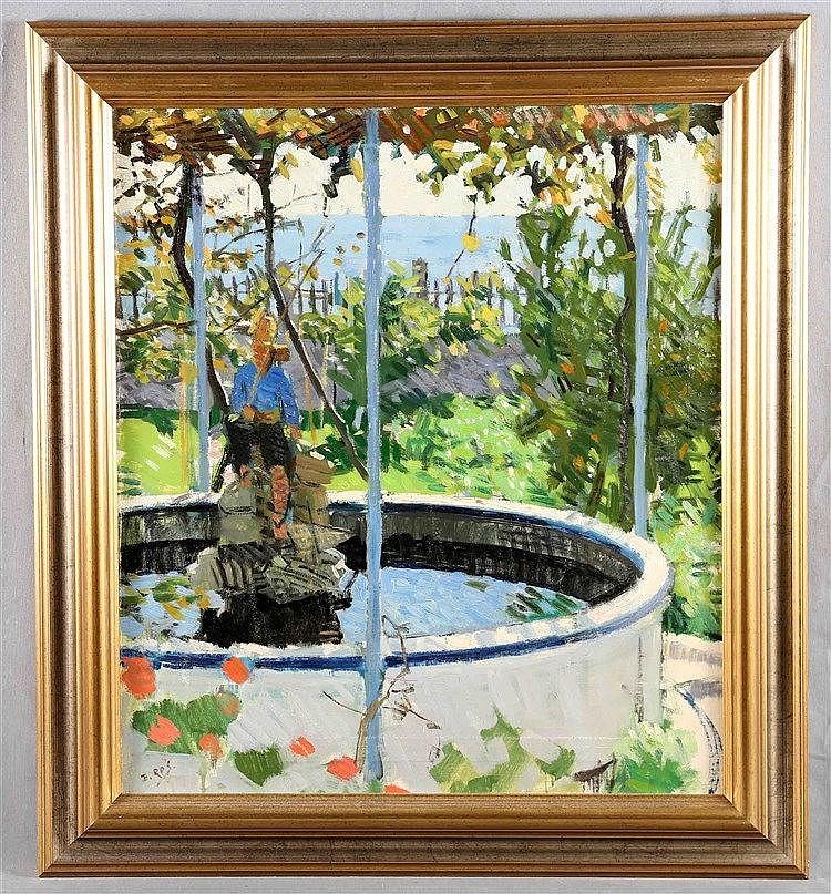 "ROS BENET, EMILIO, ""The garden of the artist's family house"